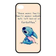 Lilo and stitch quote cute disney iphone case
