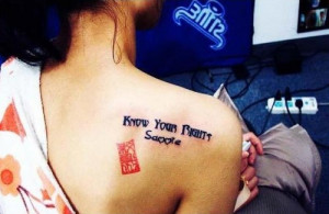 New Trend Brings Meaningless English Phrases to Chinese Tattoos