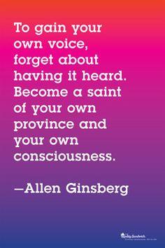 Allen Ginsberg Poster More