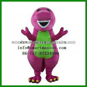 2014 Hot barney dinosaur mascot costumes barney the dinosaur costumes ...