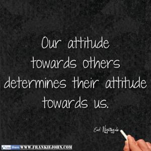 Earl Nightingale Quotes Attitude