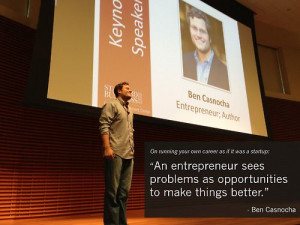 Ben Casnocha, co-author of The Startup of You, believes you can ...