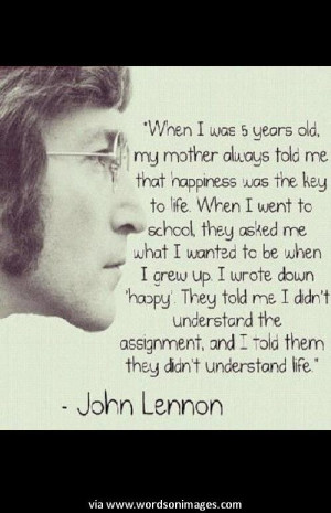 Quotes > All Inspirational Quotes > Art > Imagine Quote by John Lennon ...