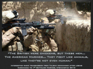 The Taliban's Thoughts On The US Marines