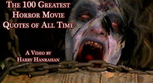 VIDEO: The 100 Greatest Horror Movie Quotes of All Time