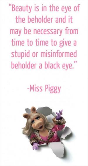 funny miss piggy