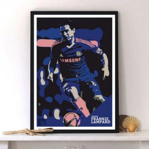 Frank Lampard fan poster quote chant Chelsea poster