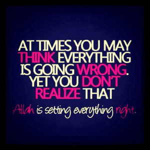 Have faith and stay strong