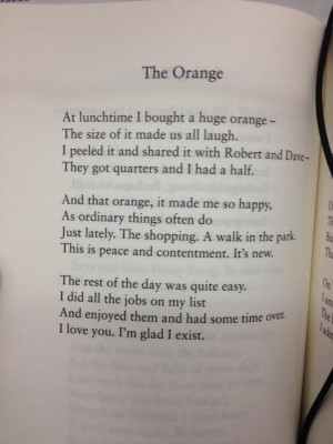 Wendy Cope - lovely