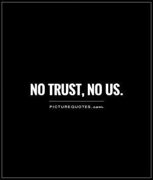 trust no one quotes and sayings