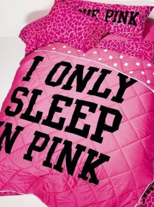 ... wishlist galentines day pink by victorias secret quote on it pillow