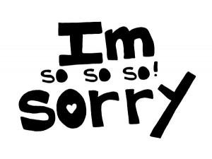 sorry i m so so so sorry