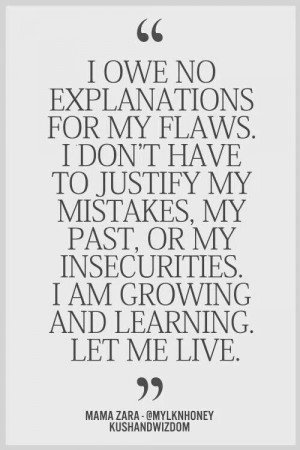 am growing and learning!