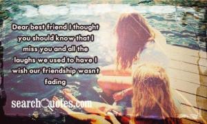 dear best friend quote dear bestfriend we laugh at dear best friend ...
