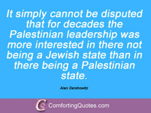 20 Quotations By Alan Dershowitz