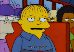 the simpsons simpsons other 90s fox ralph wiggum