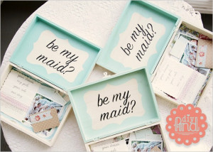 Pop the Question: Will You…Be My Bridesmaid?