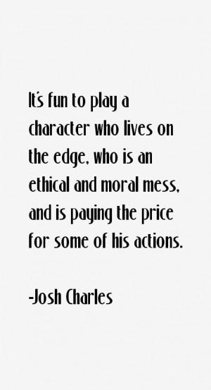 Josh Charles Quotes & Sayings