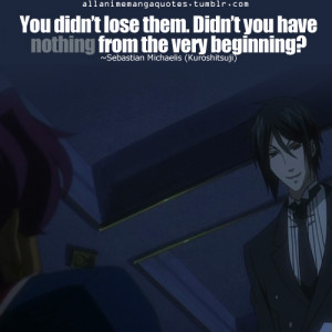 Sebastian Michaelis Quotes Picture
