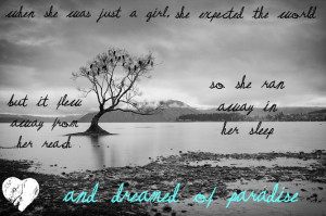Paradise by Coldplay