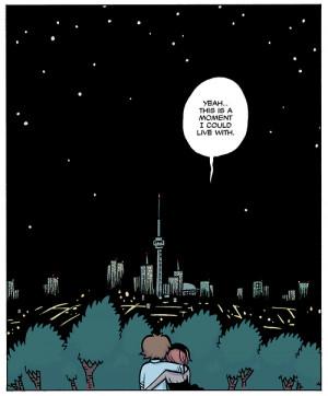 comics scott pilgrim the feels tho