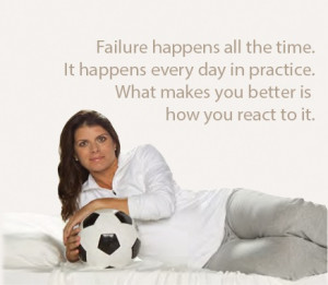 Pictures Mia Hamm Soccer Player Quotes Sayings Failure Inspirational