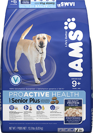 Iams Dog Food ProActive Health Large Breed Senior Plus