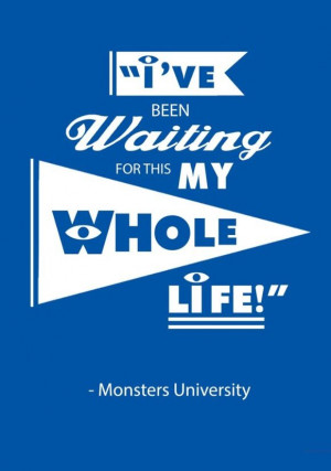 Monsters Inc Quote.