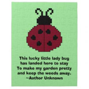 Ladybug Quotes