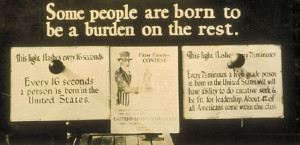 Eugenics Hits Austin In Population Connection Society