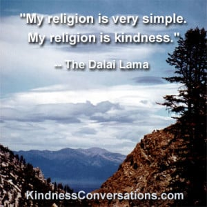 The Dalai Lama Philosophy Of Kindness Compassion Quote - kootation.com