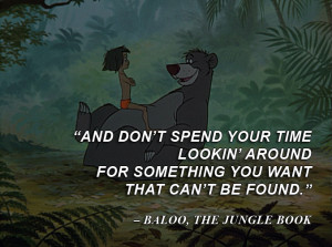 Disney Quotes The-jungle-book by qazinahin