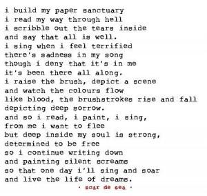 sanctuary scar de sea s poems poem poetry sanctuary hell terror fear ...