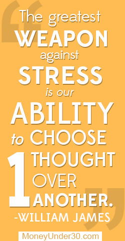 Overcoming Stress Quotes