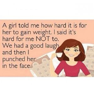 Skinny girl problems...