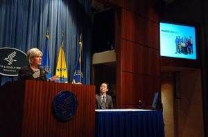 HHS Secretary Kathleen Sebelius. Source: U.S. Department of Health and ...
