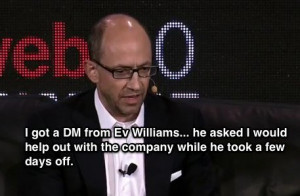 Costolo initially thought he was only going to spend a little while at ...