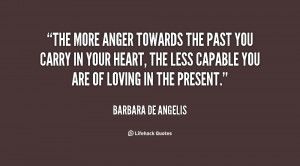 Anger Towards The Past Love