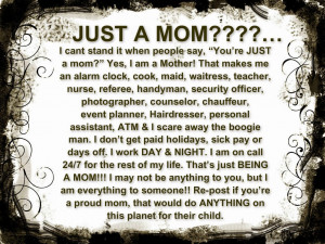 Proud Single Mom Quotes Yes, i am a mother!