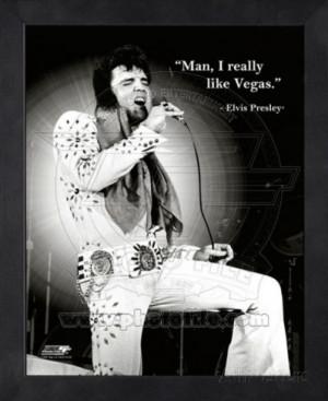 Elvis Quote Framed Memorabilia at AllPosters.com