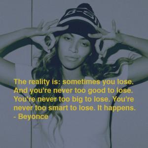 Queen B quote!