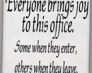 ... office decal sticker on 8 x 8 white tile office decal Wall art vinyl