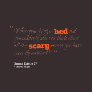 Quotes About Lying In Bed