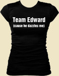 Twilight, Team Edward, Team Jacob T-Shirts that you can customize