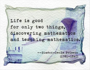Quotes A Day- maths Quote