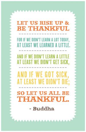 ... between gratitude and Great Gratitude seen in a Buddha's Eye