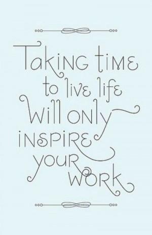Work life balance. Awesome!!!
