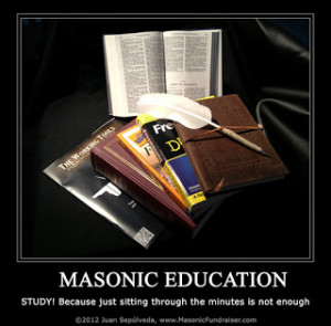 Masonic Education Poster