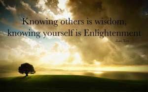 Enlightenment Quotes Yourself is enlightenment.
