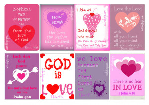 FREE Christian Valentine's Day Cards!